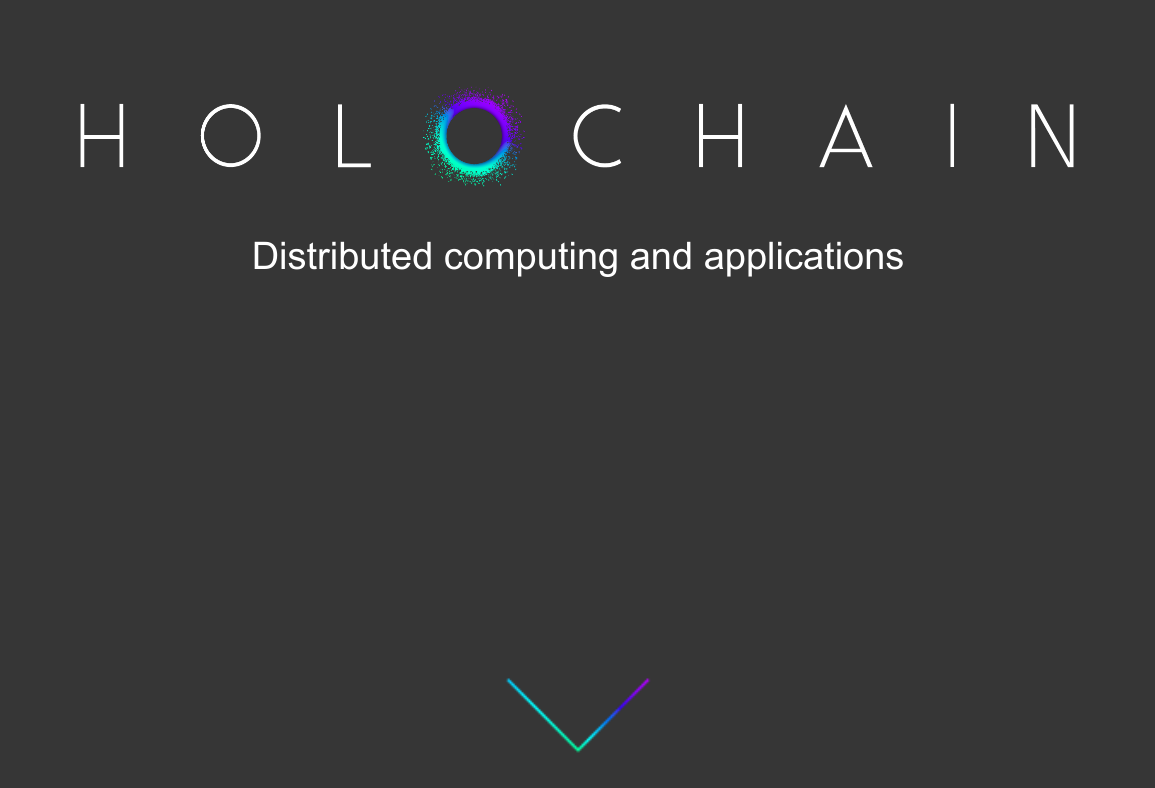 screenshot of holochain.org